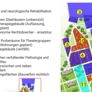 Otto Wagner Areal Verbauung